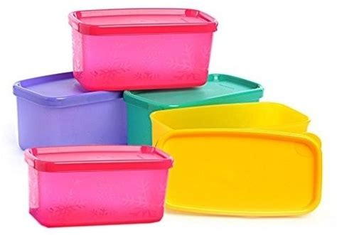 Teflon Tupperware tupperware 200 ml plastic grocery container price in
