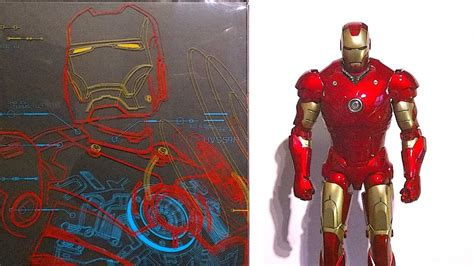 hot toys diecast iron man mk unboxing youtube