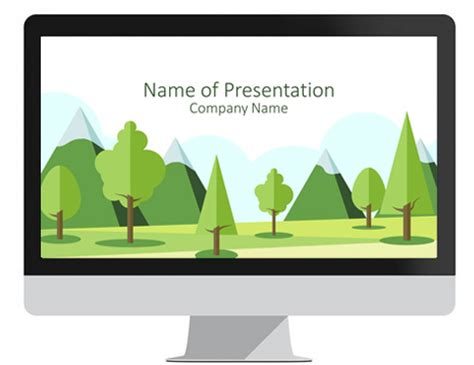 ecology powerpoint template presentationdeck com