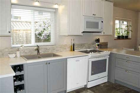 Kitchen Backsplash For White Cabinets by Ikea S Bodbyn Cabinets Make A Dramatic Quot After Quot