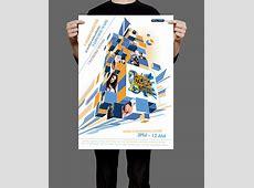 Tiger Asian Music Festival Poster Design on Behance Jess Chang Hong Kong