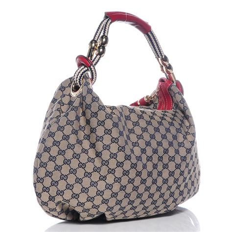 Roberto Cavalli Acapulco Large Hobo by Gucci Monogram Acapulco Medium Hobo Navy 69492