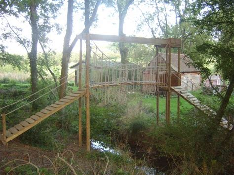 bridge rope swing 1000 images about kids swing set ideas on pinterest