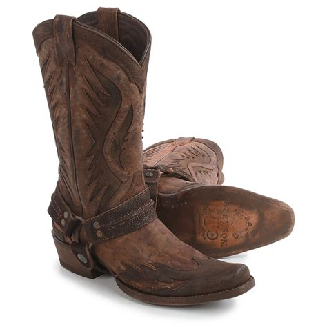 stetson mens cowboy boots stetson outlaw wings cowboy boots for save 50