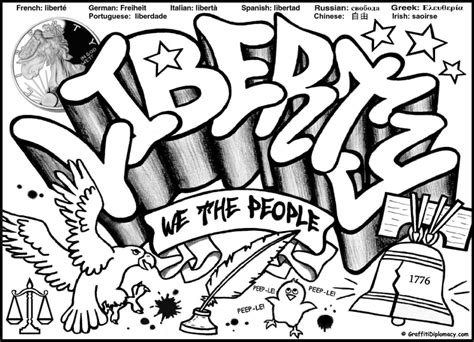 graffiti coloring book multicultural graffiti free printable coloring pages
