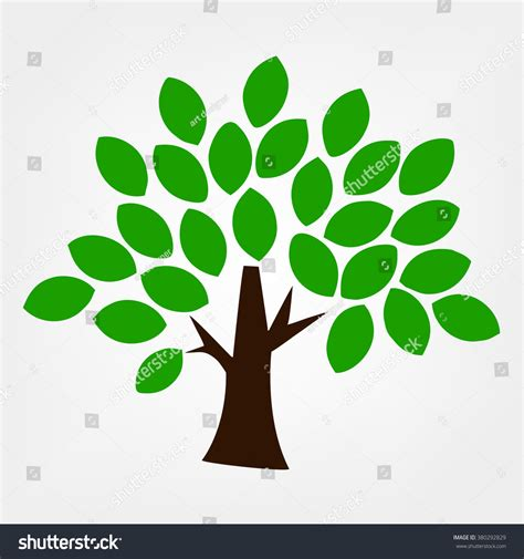 what does a tree symbolize green tree symbol vector 380292829 shutterstock