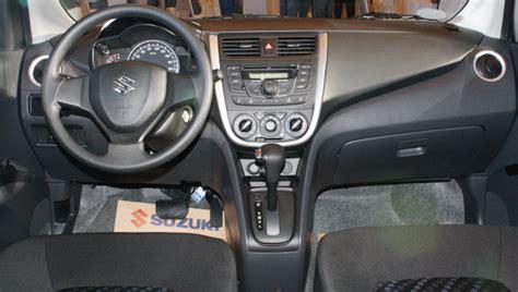 Interior Celerio by Celerio Review Philippines Autos Post