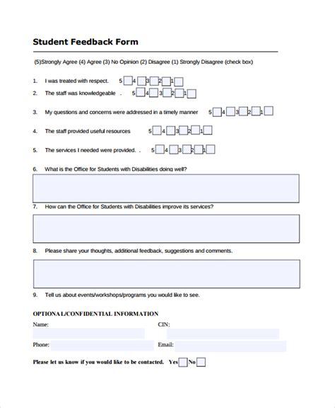 sle employee satisfaction survey templates learner feedback form template 28 images student