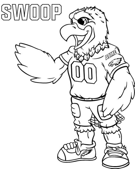 philadelphia eagles coloring pages coloring pages