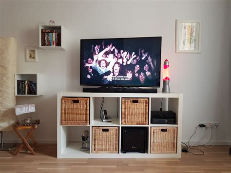 living room cable management tipps home theater