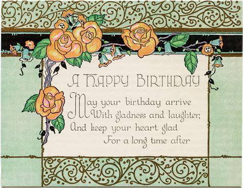 happy birthday card design art art deco birthday card free download old design shop blog