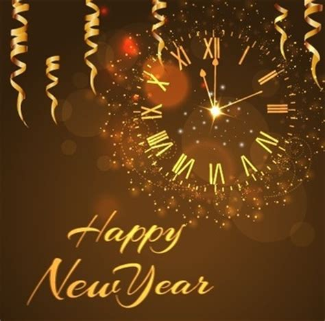 new year 2012 golden happy new year free vector 7 563 free vector