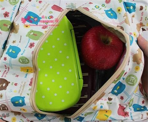 Kacamata Fashion Kacamata Oval Pink Trendy Gaya Korea korean style lunch bag