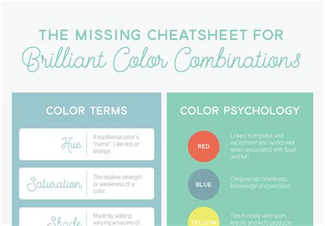 color terms you should stylenoted 15 diagrams that make graphic design much easier