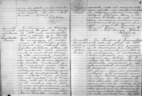 Birth Records Before 1919 Researching Mexican Records For My Grandfather Vita Brevis
