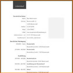 Lebenslauf Vorlagen Absolvent 4 Lebenslauf Vorlagen Questionnaire Templated