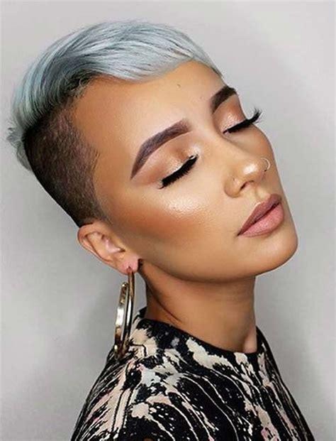 short hairstyles  black women   models