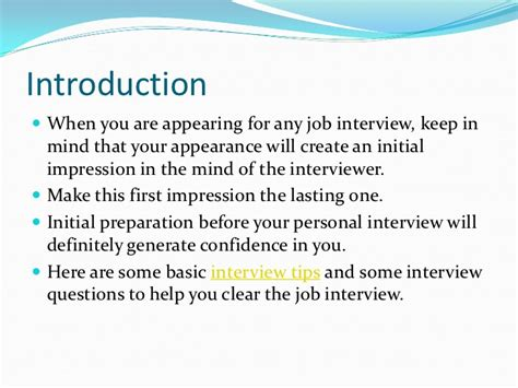 .job interview tips and preparation robert half