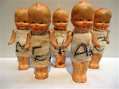 dionne bisque doll antique bisque porcelain dionne quintuplets baby doll set