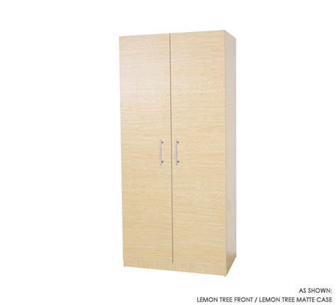 2 Door Wardrobe Closet Wardrobe Closet W 2 Doors Item 1135