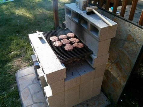 diy cinder block grill in paleo vacation home ideas pint