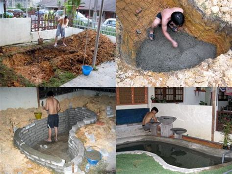 build a backyard pond and miau wantz fillet your own simple pond