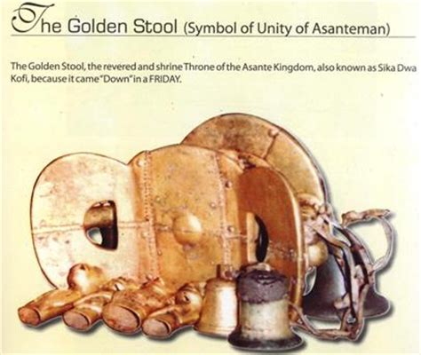 The Golden Stool Of The Ashanti by Hebrewisms Of Africa Blessedwomanofyah