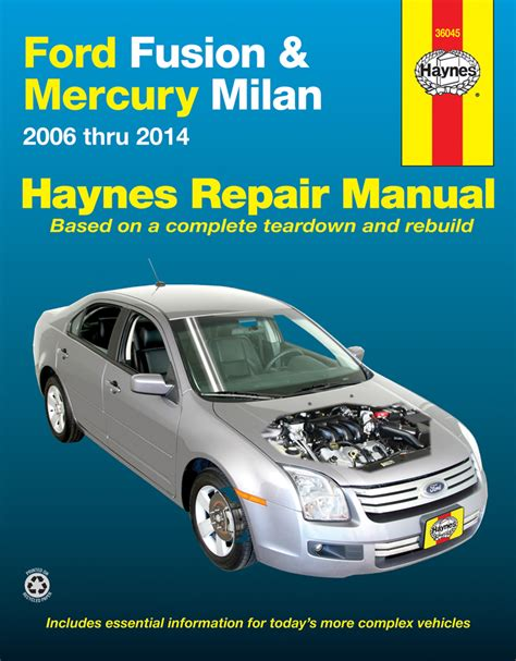 chilton car manuals free download 2006 lincoln zephyr engine control all ford fusion parts price compare