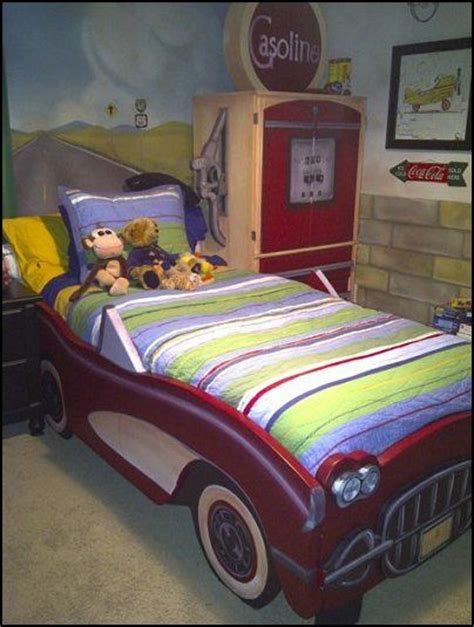 corvette car bed vintage corvette car beds unique beds pinterest