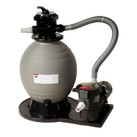 blue wave 18 in sand filter system with 3600 gph 1 hp