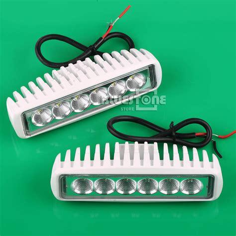 led spreader lights for boats white spreader led marine lights set of 2 for boat