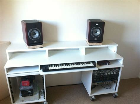 Diy Recording Desk Diy Studio Recording Desk Home Studio Desks Studio And Cave