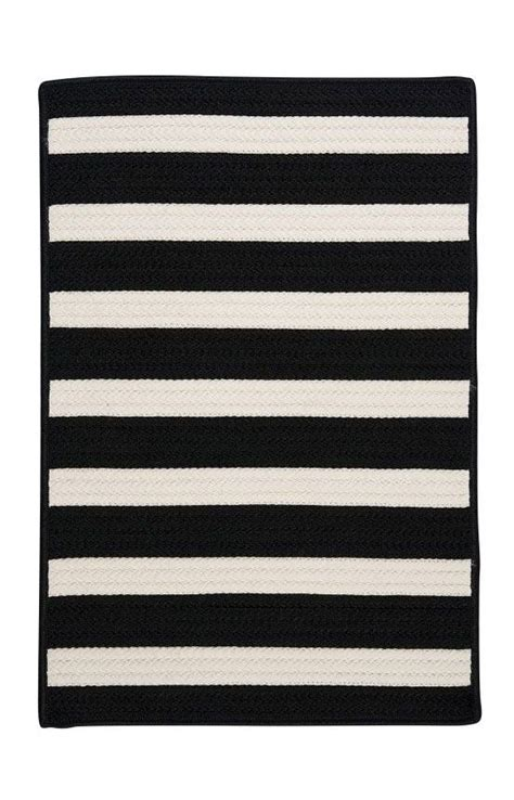 Black And White Stripe Outdoor Rug Black And White Striped Outdoor Rug Mohawk Select Wayfair Willoughby Black White Striped