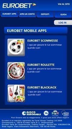 mobile eurobet bonus mobile eurobet fino a 10 sulla prima giocata