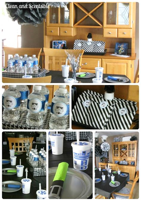 star wars decor star wars party decor clean and scentsible