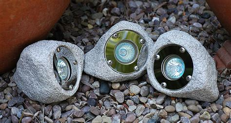 Rock Lights For Garden 3 X 10w Garden And Pond Rock Light Set Ip65