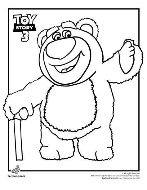 Coloring Pages Of Toy Story 3 Az Coloring Pages Story Coloring Page