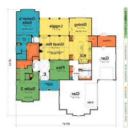 house plans with two master suites donald gardner modern