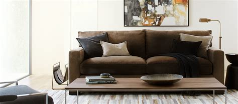couches for living room living room furniture crate and barrel