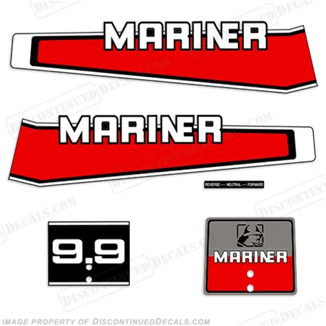 Yamaha 15 Ps Aufkleber by Mariner Decals