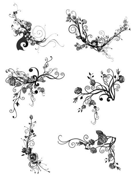 vector rose tutorial rose vector elements 03 free stock photo public domain