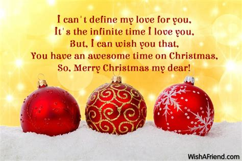 christmas messages  girlfriend
