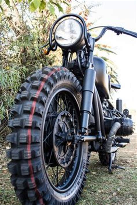 go the rat motocross bmw r50 500cc boxer and yes these are the motocross tires