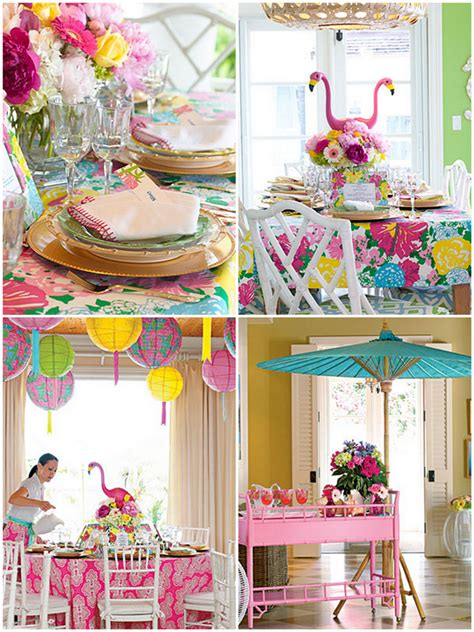 Lilly Pulitzer Decorations by Lilly Pulitzer Inspired Ideas Pizzazzerie