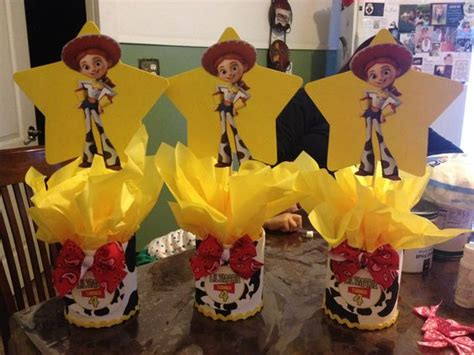 toy story jessie centerpieces stuff i have made