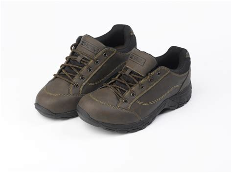 rugged outback lace up walking shoes mens outdoor rambling