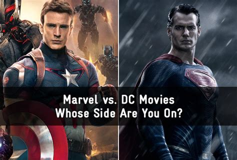 marvel film quizzes marvel vs dc whose side are you on quiz zimbio