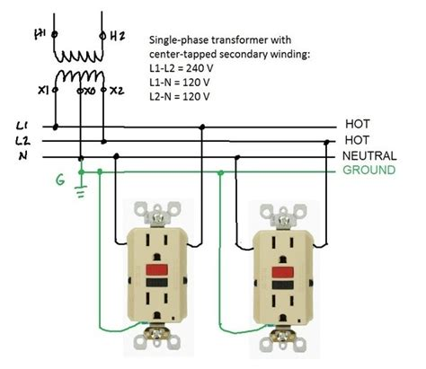 why is a wire connected to the neutral of an epd or