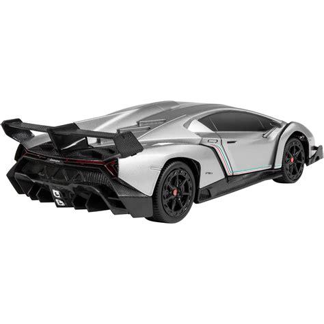 Rc Lamborghini Imitation Racing 1 24 licensed rc lamborghini veneno sport racing car w 27mhz grey ebay