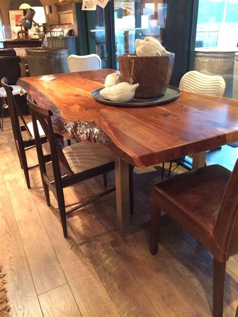 slab dining room table natural edge slab dining room table for the home pinterest